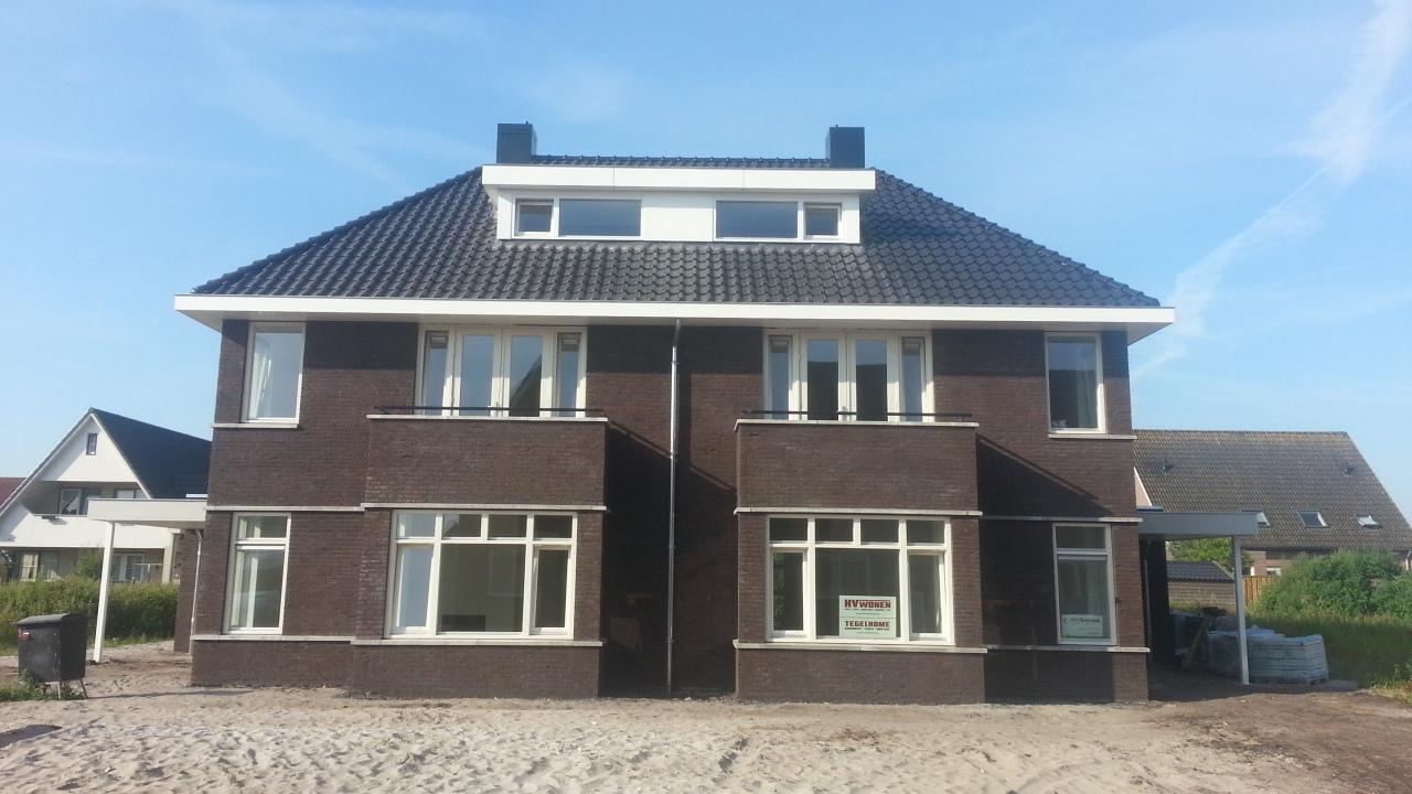 Twee onder een kap woning rouveen harcom bouw for Prijzen nieuwbouw vrijstaande woning