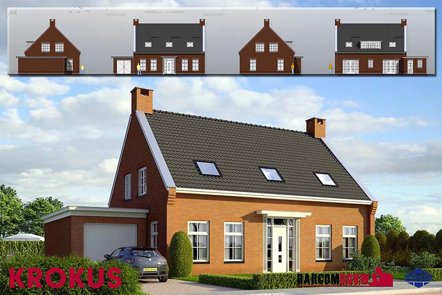 Krokus harcom bouw for Catalogus woning bouwen