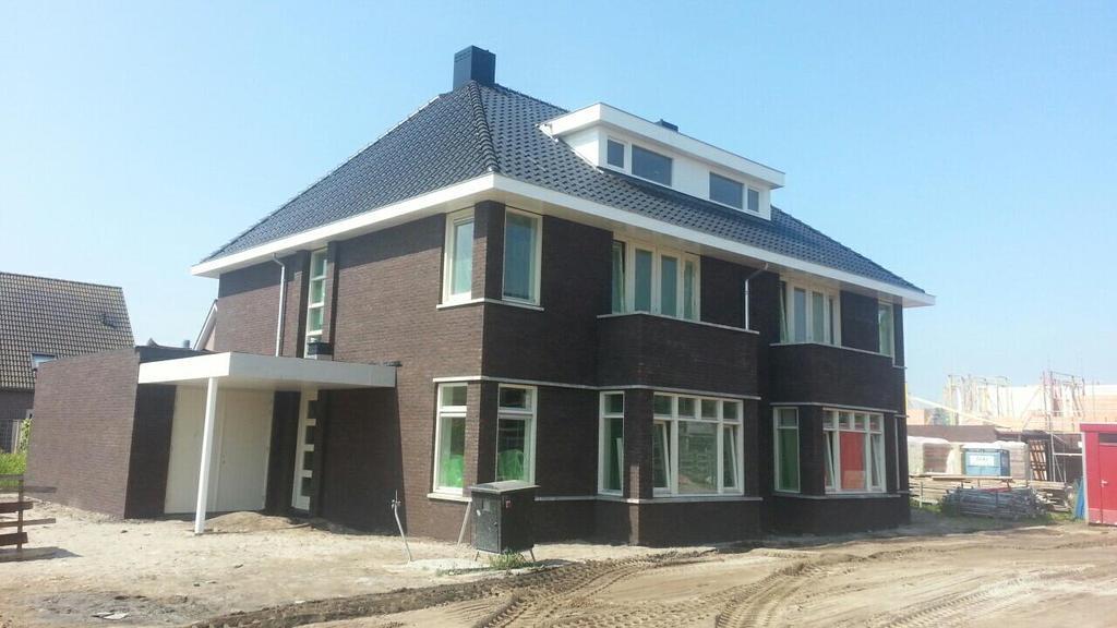 Twee onder een kap woning rouveen harcom bouw for Catalogus woning bouwen